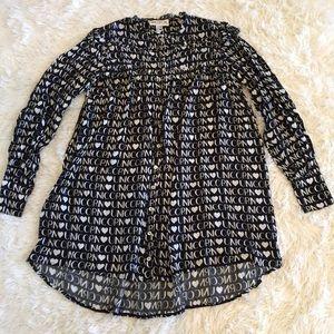 Wildfox Oversized Unicorn Babydoll Dress/Tunic
